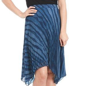 HALSTON Sunray Pleated Skirt